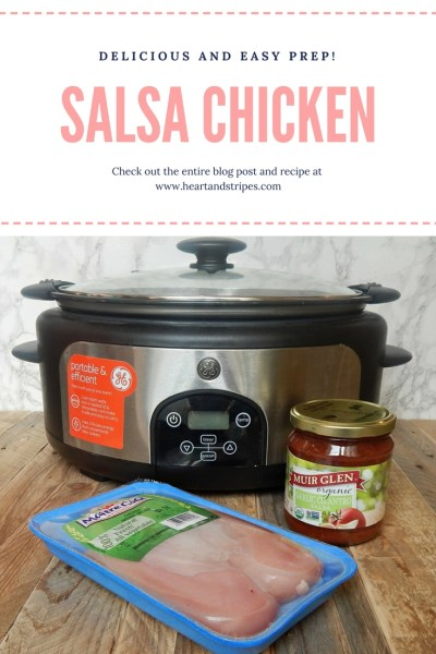 Salsa Chicken You Will Fall In Love With - Heart and Stripes