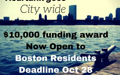 Heartank goes City Wide! Deadline October 28