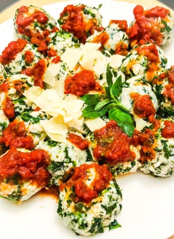 """Yoli Canoli's"" Famous Spinach Raviolis"