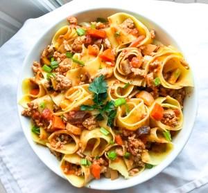 Delicious & Healthy Pasta Bolognese
