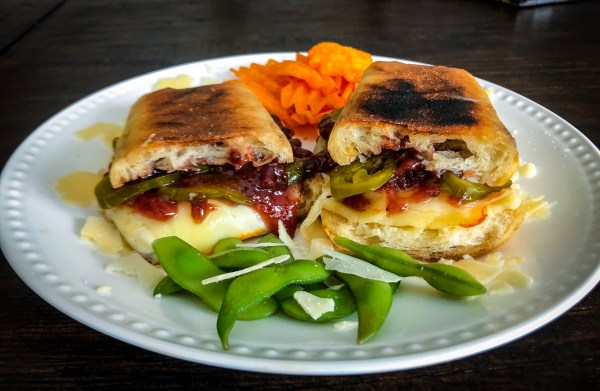 Fall Off Friday With this Decadent Grilled Cheese & Strawberry Jalapeño Sandwich