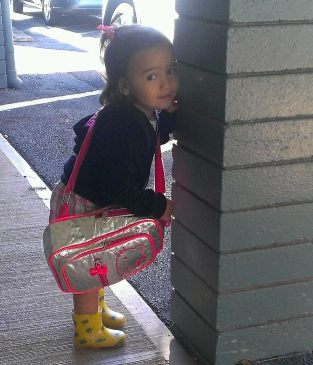 Ka'ilima waiting for school