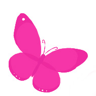 pink butterfly for debbie contact