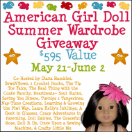 American Girl Doll Summer Wardrobe Giveaway