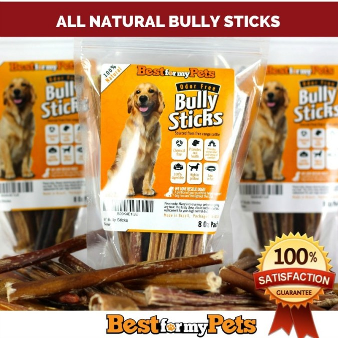 Check out these Amazing Best Natural Bully Sticks.  My dog loves these bully sticks and has hours of fun playing with them.