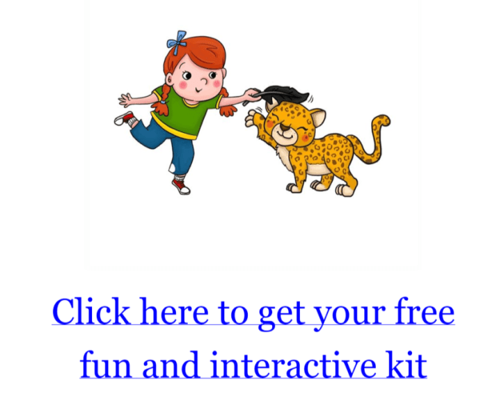 Tali Carmi provides free interactive kits for you little one in her book Abigail and the Jungle Adventure