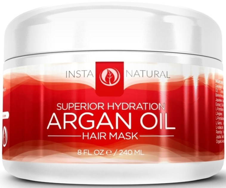 Amazing Hydration returned to damaged hair with the Argan Oil hair Mask