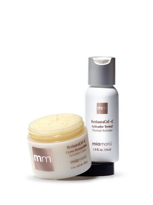 Mia Mariu's Restauracel-C Thermal Microdermabrasion set review