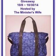 Pattern LA Classic Diaper Bag Giveaway