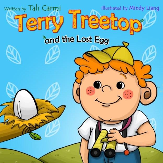 What excitement in this Kids Book Terry Treetop and the Lost Egg By Tali Carmi