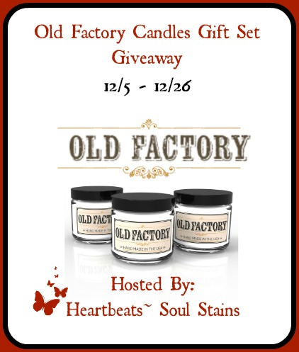 Old factory candles giveaway