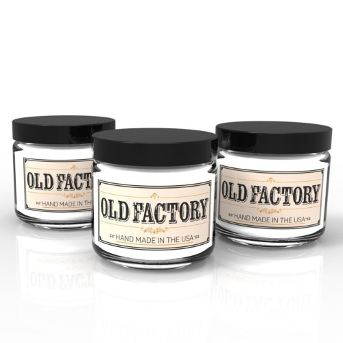 Old Factory Candle Themed Gift Set