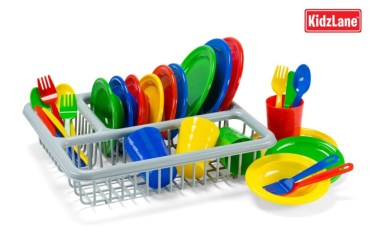 Pretend Dyson & Pretend Children's Dish Set