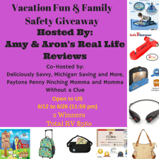 Vacation Fun & Family Safety Giveaway #VFFSGiveaway