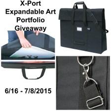 X-Port Expandable Art Portfolio Giveaway #XportExpandablePortfolio