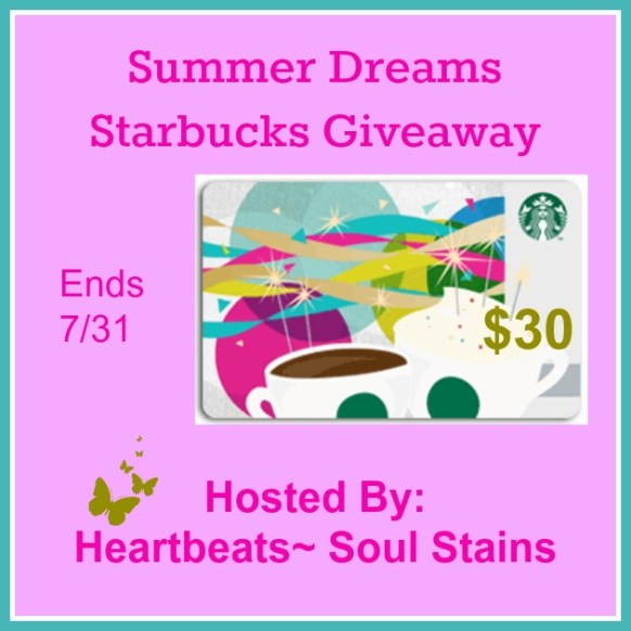 summer dreams starbucks giveaway