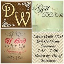 Divine Walls Giveaway