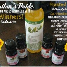 Puritan's Pride Jojoba Oil and Essential Oil Set Giveaway