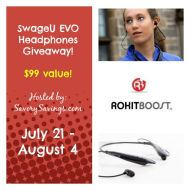 SwageU Evo Bluetooth Headphones Giveaway