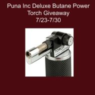 Puna Inc Deluxe Butane Power Torch Giveaway