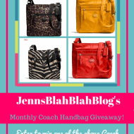 Monthly Coach Handbag Fan Appreciation Giveaway~ Oct/Nov