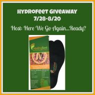 Hydrofeet Giveaway