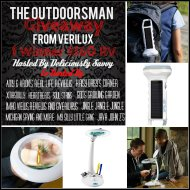 The Outdoorsman Giveaway with Verilux! #Verilux