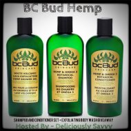 The BC Bud Hemp Skincare Shampoo and Conditioner Set + Exfoliating Body Wash Giveaway