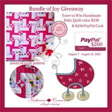 bundle of joy giveaway button