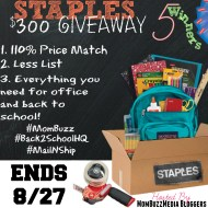 Staples Mail & Ship Plus Back to School Gift Cards Giveaway #MomBuzz #Mailnship