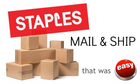 staples mail & ship