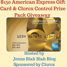 $150 American Express Gift Card & Clorox® Control Bleach Prize Pack Giveaway