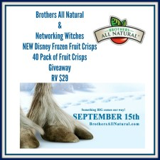 "Brothers All Natural ""Disney Frozen"" Fruit Crisps Giveaway"