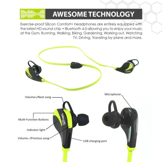 Sports Bluetooth headphones 2