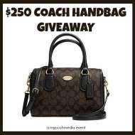 $250 COACH MINI BENNET SATCHEL Giveaway Event