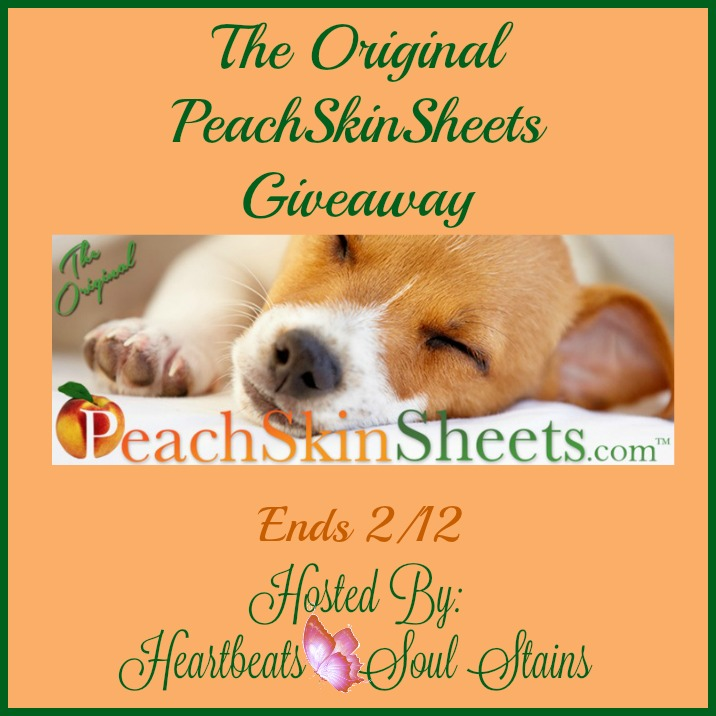 The original Peachskinsheets giveaway 2