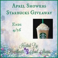 April Showers Starbucks Giveaway #AprilShowers