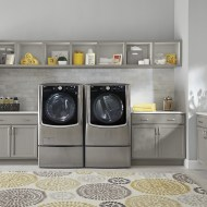 Save Time & Energy with LG Twin Wash and SideKick Laundry Pair at Best Buy #bbyed
