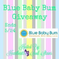 Blue Baby Bum + Amazon Giveaway + #HelloBabyHop