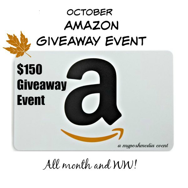 October $150 Amazon Event 2016 Giveaway