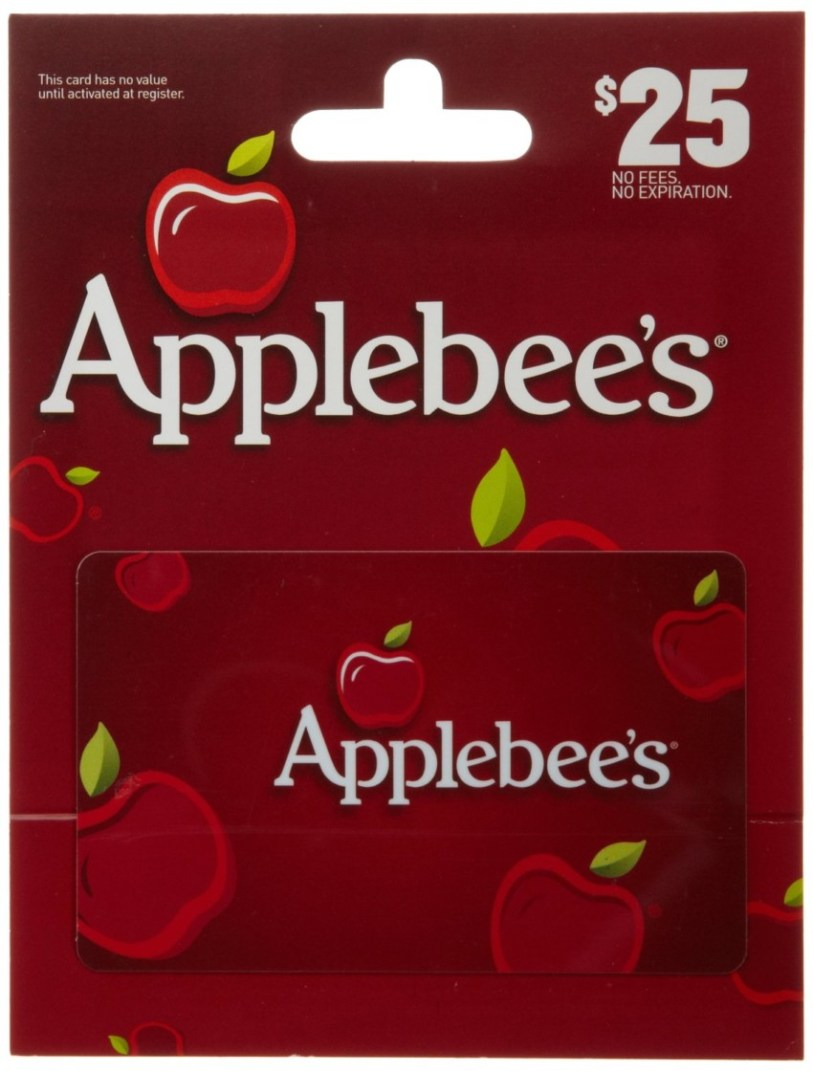 Applebee's $25 Gift Card Giveaway