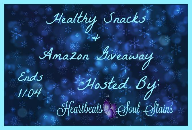 Healthy Snacks & Amazon Giveaway
