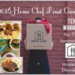 The Home Chef Feast Giveaway w/ 10 Winners! $600 TRV! @HomeChef
