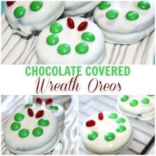 Wreath Chocolate Covered Oreos