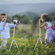 Sharing Your Love of Photography with Your Child