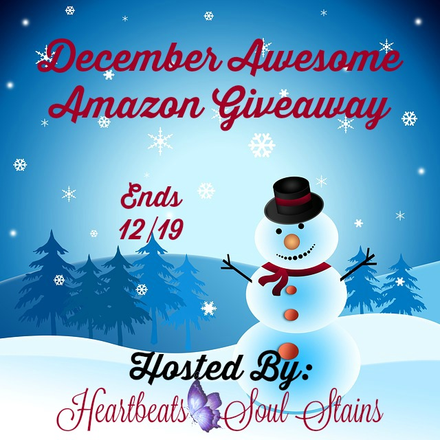December Awesome Amazon Giveaway #Dec2Remember