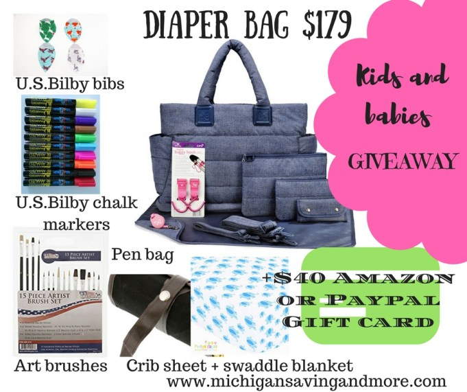 Kids and Babies Product Giveaway Total $290 ARV