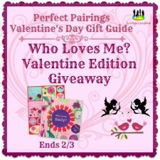 Who Loves Me? Valentine Edition Giveaway @ISeeMe_Books @SMGurusNetwork