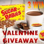 Sugar Babies Valentine Giveaway #CandyInYourCup