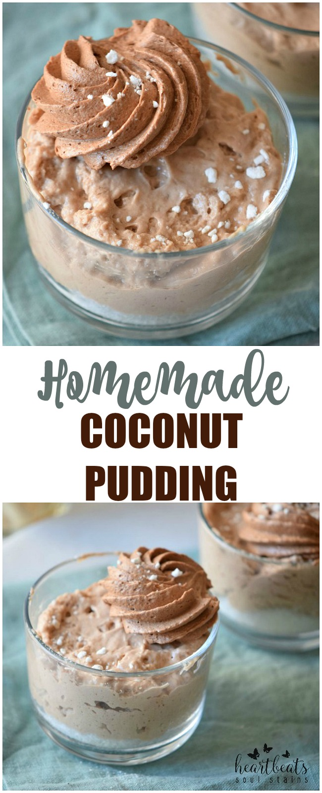 Coconut Pudding is a perfect treat for anyone looking for a tasty tropical treat! I love adding coconut to recipes, and this one is a favorite!